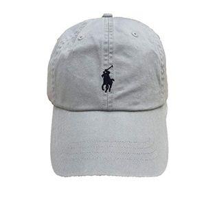 NWT Ralph Lauren Hat, Light Gray, Adjustable